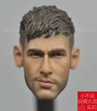 custom 1/6 head sculpt Neymar da Silva Santos Júnior football star