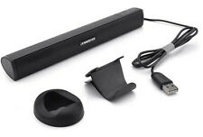 USB Powered Computer Stereo Speaker, Portable Mini Sound Bar for Computer/laptop