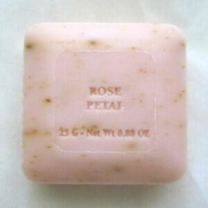 Pre de Provence Rose Petal Artisan French Milled Shea Butter Guest Bar Soap 25g