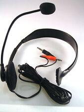 Nuevo Emkay VR-3310 Monoaural/Una Oreja Auricular Con Micrófono Para PC/Skype