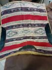 Vintage WOOL Horse Saddle Pad Cushion Approx 32.by 30 inches old