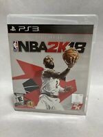 NBA 2K18 For Sony PlayStation 3 PS3 Kyle Irving Basketball Tested With Manual