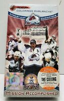 Colorado Avalanche 2001 Stanley Cup Champions  Mission Accomplished VHS 2001 NEW