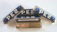 PEZ - 5 limited CANDY PACKs  PEPPERMINT GOLD - RARE !!!