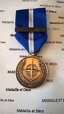 OTAN Médaille pour les Balkans + agrafe