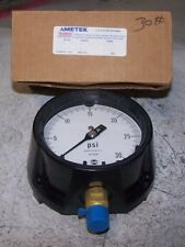 Air Pressure Gauges Ashcroft 45-1279ss-04 Duragauge Pressure Gauge 0-22 Psi W/ Diaphragm Seal Year-End Bargain Sale