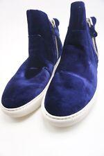 Women's Gentle Souls Carole Zip Sneaker, Size 7.5 M - Navy