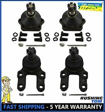 4Pc Front Upper & Lower Ball Joint Kit Fit 83-97 Nissan Pathfinder 720 D21 4WD