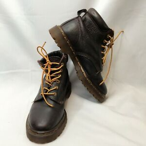 Dr Martens Doc England MIE Rare Vintage Aztec Brown Leather Boot UK4 US6 EU37