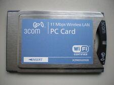 3Com PCMCIA Wireless LAN PC Card with XJACK Antenna 3CRWE62092B