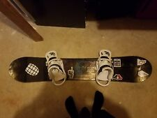 Burton Deuce SnowBoard and Thirty Two Snowboard Boots