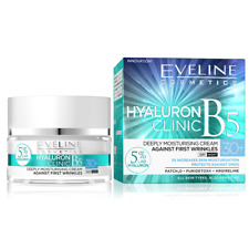 Eveline Hyaluron Clinic Moisturising Cream Against First Wrinkles 30+ 50Ml