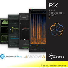 iZotope RX POST PRODUCTION SUITE 2 Plugin Bundle RX 6 Advanced Audio Editor NEW