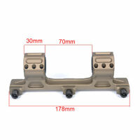 One Piece Offset 30mm Scope Mount 1inch Size Inserts Level Instrument 20mm Rail
