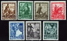ITALY 1938 EMPIRE ISSUE (7 STAMPS) SC#400//08 MNH SC$135.00 MILITARY