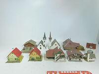 AZ779-2# 10x Faller/Kibri/Vollmer etc Spur N Modell: Kirche+Kapelle+Bauernhof+….