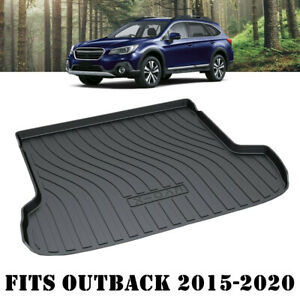 Heavy Duty Trunk Cargo Mat Boot Liner Luggage Tray for Subaru Outback 2015-2021