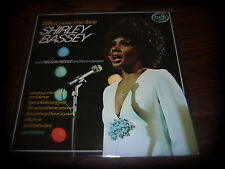 3 x LPs The fabulous Shirley bassey,  What now my love & Born to sing the blues