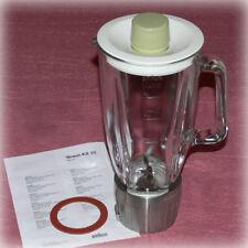 █ BRAUN KM32 🔴 WIE NEU 🔴 GLASMIXER für Küchenmaschine Standmixer KM 32 31 MX