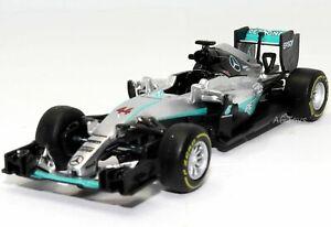 Mercedes F1 W07 Hybrid Lewis Hamilton #44 Formula 1 Model Toy Car 1:43 Scale