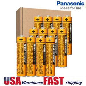 Panasonic NI-MH AAA Rechargeable Battery Cordless Phones Batteries 630mah 1.2V