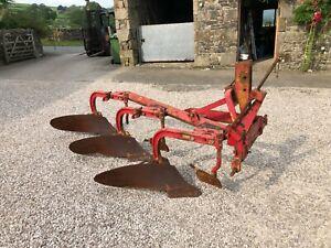 #B1298 Massey Ferguson Model 41 plough Classic tractor MF 135 165 265 290 No VAT