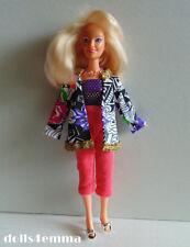 Hasbro Vintage JEM handmade clothes JACKET TOP CAPRIS NECKLACE Fashion NO DOLL
