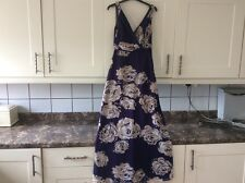 Lovely ladies size 8 purple mix  maxi lined dress  from untold ideal for wedding