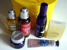 NIB L'OCCITANE EN PROVENCE 6 Piece DELUXE TRAVEL SIZE GIFT SET-NEW IN BOX-FRANCE