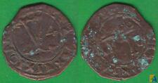 JUANA Y CARLOS. 4 MARAVEDIS DE 1506-1516. SANTO DOMINGO.