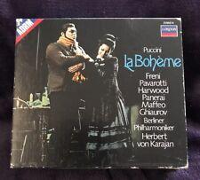 PUCCINI LA BOHEME 2- CD Box Set by London Decca