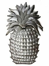 "Pineapple, Welcome Home Wall Decor, Recycled Haitian Metal Steel Art 9"" X 14.25"""