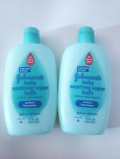 Johnson's Baby Soothing Vapor Bath For Colds 15 Oz. 2-pack