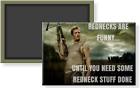 Walking Dead Daryl Dixon Rednecks Are Funny Meme 2 x 3 Refrigerator Magnet