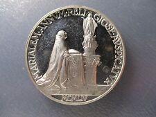 VATICANO MEDALLA ANUAL OFICIAL PAPA PIO XII AÑO XVI 1954 - PLATA