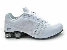 Nike Shox Deliver Shoes Men's Size 11.5 -  White Black Silver Running 317547-109