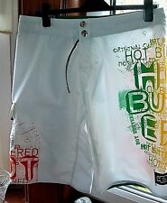 """NEW - Quality BOARD SHORTS / SHORTS : HOT BUTTERED (AUSTRALIAN) : 34"""""""
