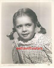 VINTAGE Mary Jane Saunders CHILD STAR '50 FATHER Publicity Portrait