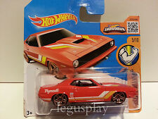 Coche Mattel Hot Wheels  DHR36 '70 Plymouth AAR Cuda / Muscle Mania 1/64