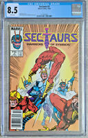 Sectaurs #3 Warriors Of Symbion CGC 8.5 Marvel Comics 1985