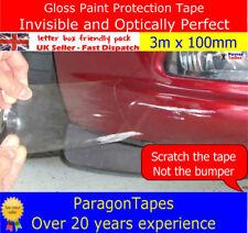 3m x 100mm Gloss Paint Protection Tape film Car Door Sill Boot Bumper vinyl Wrap