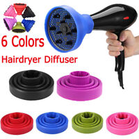 Universal Blower Hairdressing Salon Curly Hair Dryer Folding Diffuser Cover'