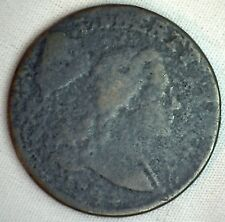 1794 Liberty Cap US Large Cent 1C Copper One Cent Type Coin AG - Almost Good M5