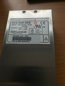 hfe1600-48/s TDK-LAMBDA POWER SUPPLY for checkpoint chassis 6000