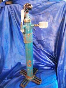 Vintage Air Ministry title pump Kismet  hand Pump Brass Ground Crew 1962  rare