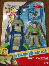NIB Imaginext TOY STORY 3 BUZZ LIGHTYEAR With SPACESHIP