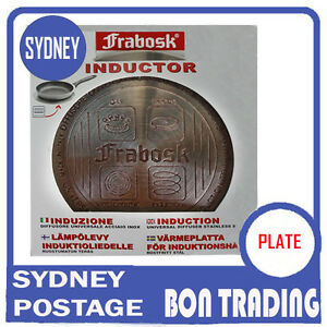 Induction Plate  Frabosk   Made in  Italian Brand Large 22 cm