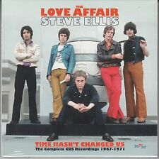 The Love Affair/steve Ellis-time hasn 't changed us, COMPLETE CBS 1967-71, 3cd