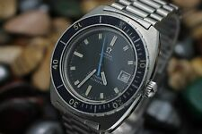 C. 1971 OMEGA Seamaster 120 Ref 166.088 Bakelite Bezel Spider Dial Diver's Watch