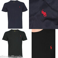 Ralph Lauren Polo Men's Custom Fit Small Pony Crew Neck T Shirt Tee Top New L